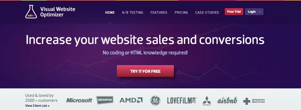 A_B Testing Tool |Split Testing and Multivariate Testing Software - Visual Website Optimizer