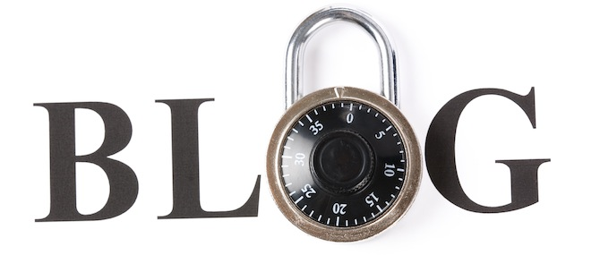 Blog and lock