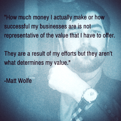 Matt Wolfe Quote