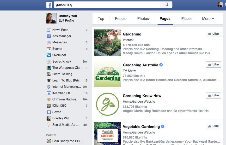 Facebook Searching -- Finding and Hiring Writers for Your Blog | LearnToBlog.com